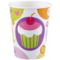 Cupcake, Muffin papír pohár 8 db-os 250 ml DPA997211