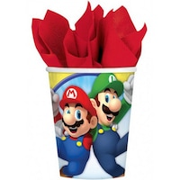 Super Mario papír pohár 8 db-os 250 ml DPA9901537