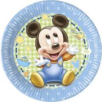 Disney Baby Mickey Papírtányér 8 db-os 19,5 cm PNN84345