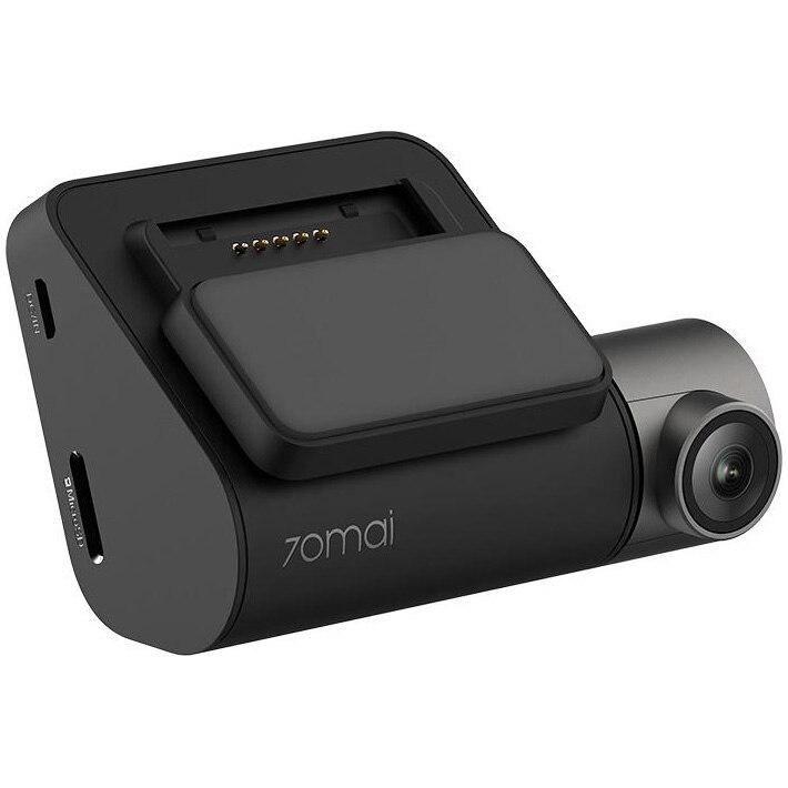 Fotografie Camera auto DVR smart Xiaomi 70mai PRO, 2.7K 1944p, WDR, G-sensor, Sony IMX335, wifi, comenzi vocale, negru