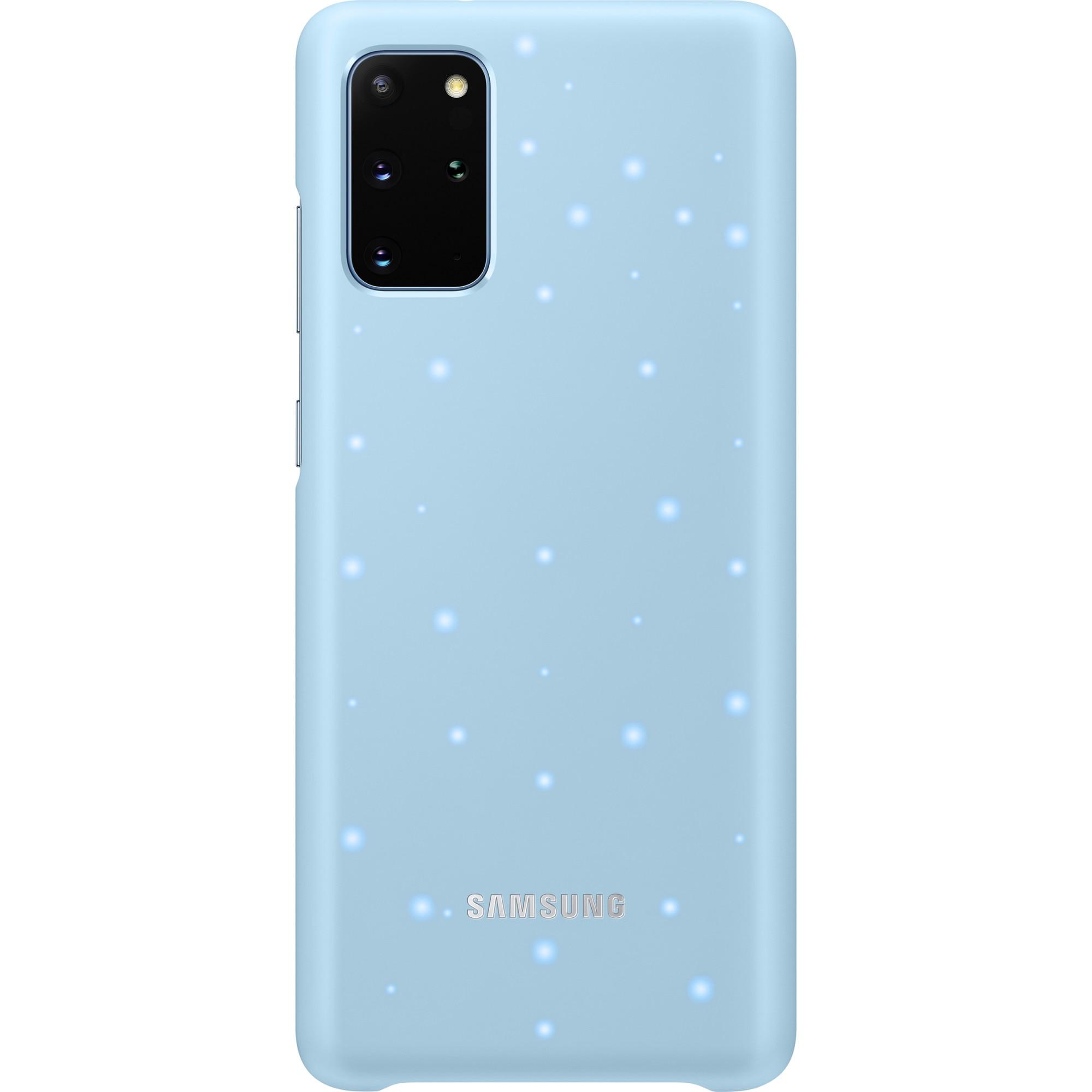 Fotografie Husa de protectie Samsung LED Cover pentru Galaxy S20 Plus, Sky Blue