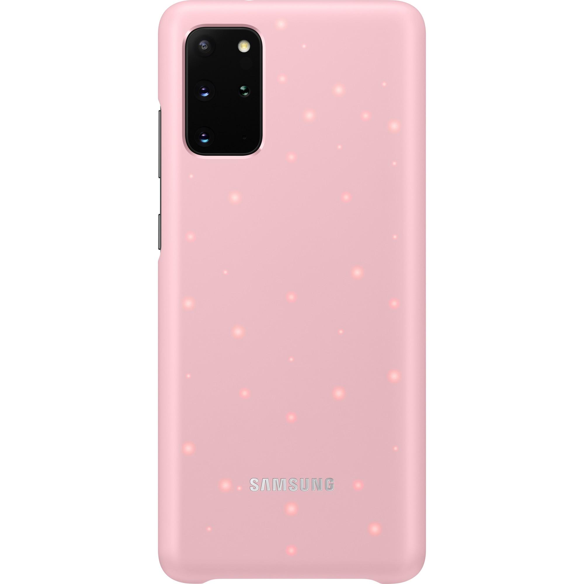 Fotografie Husa de protectie Samsung LED Cover pentru Galaxy S20 Plus, Pink