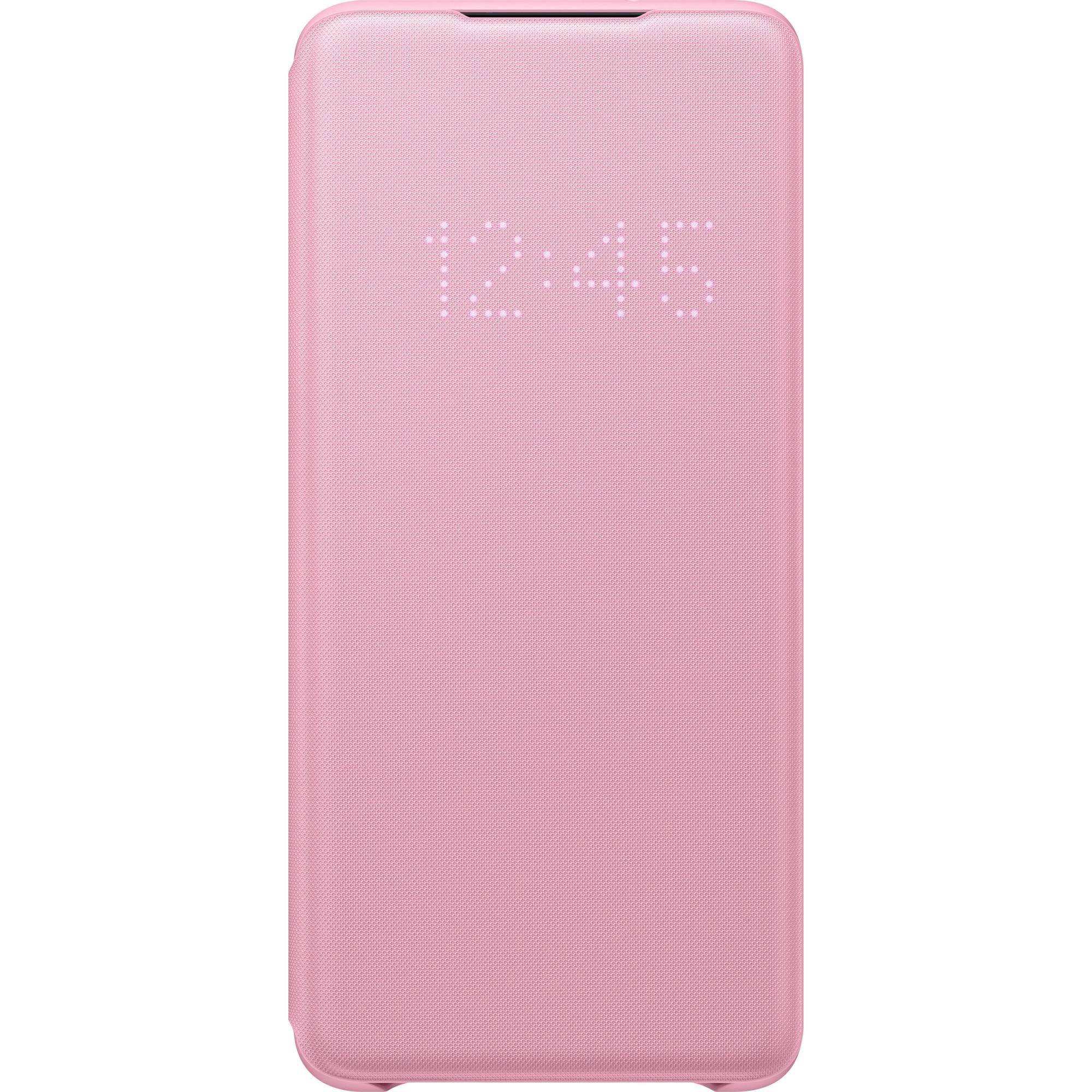 Fotografie Husa de protectie Samsung LED View Cover pentru Galaxy S20 Plus, Pink