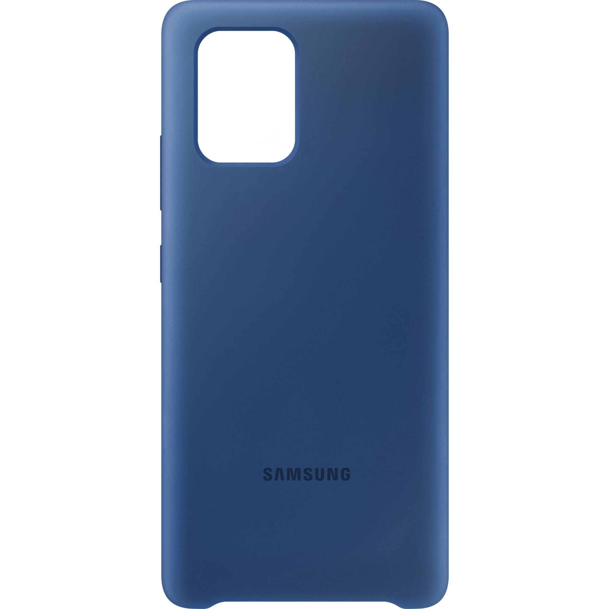 Fotografie Husa de protectie Samsung Silicone Cover pentru Galaxy S10 Lite, Blue