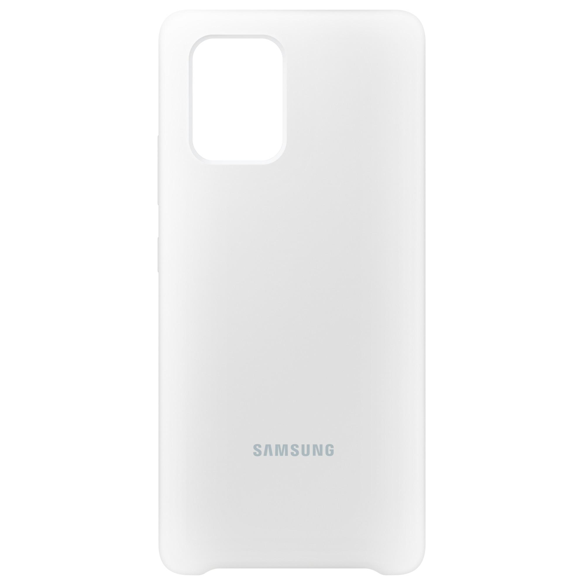 Fotografie Husa de protectie Samsung Silicone Cover pentru Galaxy S10 Lite, White
