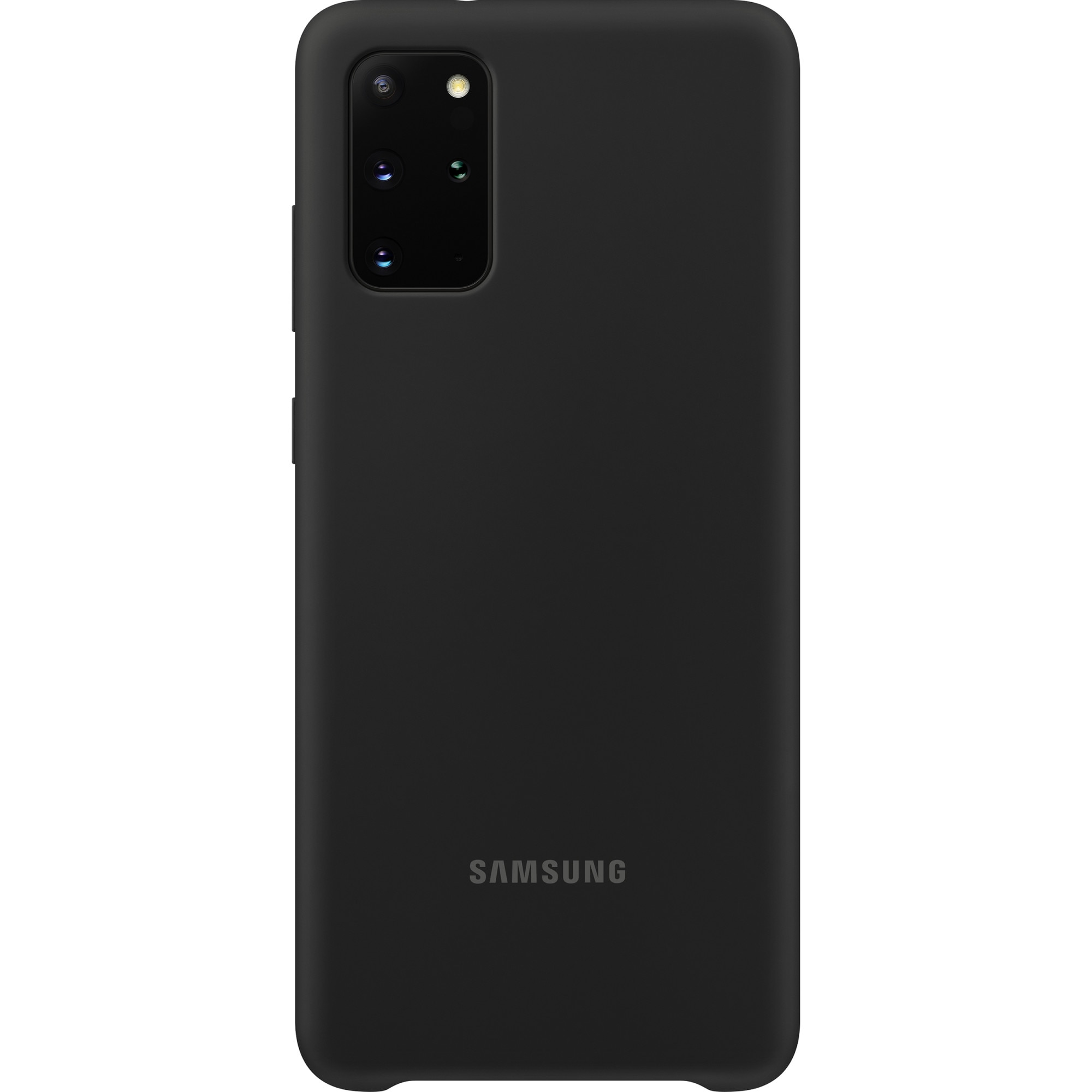 Fotografie Husa de protectie Samsung Silicone Cover pentru Galaxy S20 Plus, Black