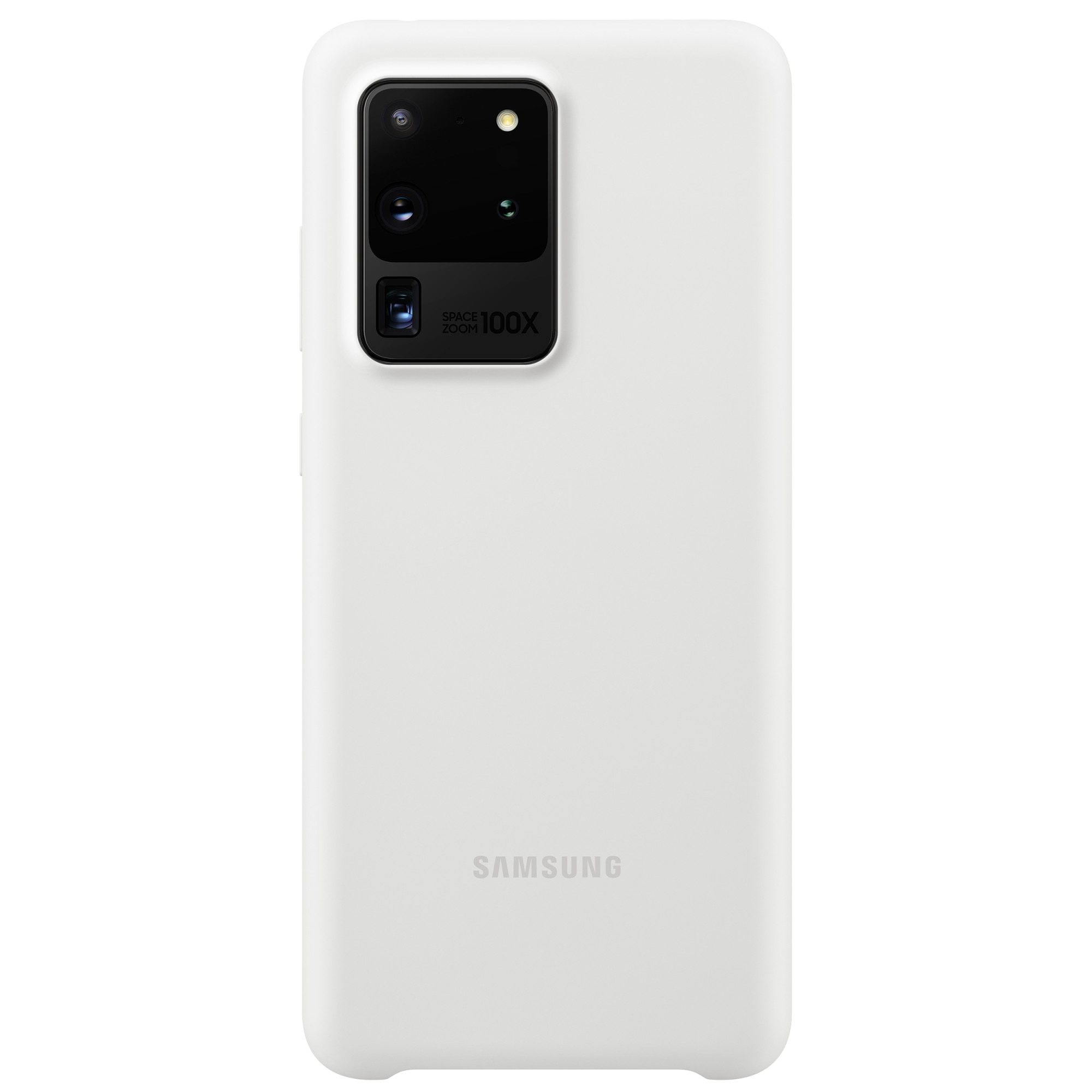 Fotografie Husa de protectie Samsung Silicone Cover pentru Galaxy S20 Ultra, White