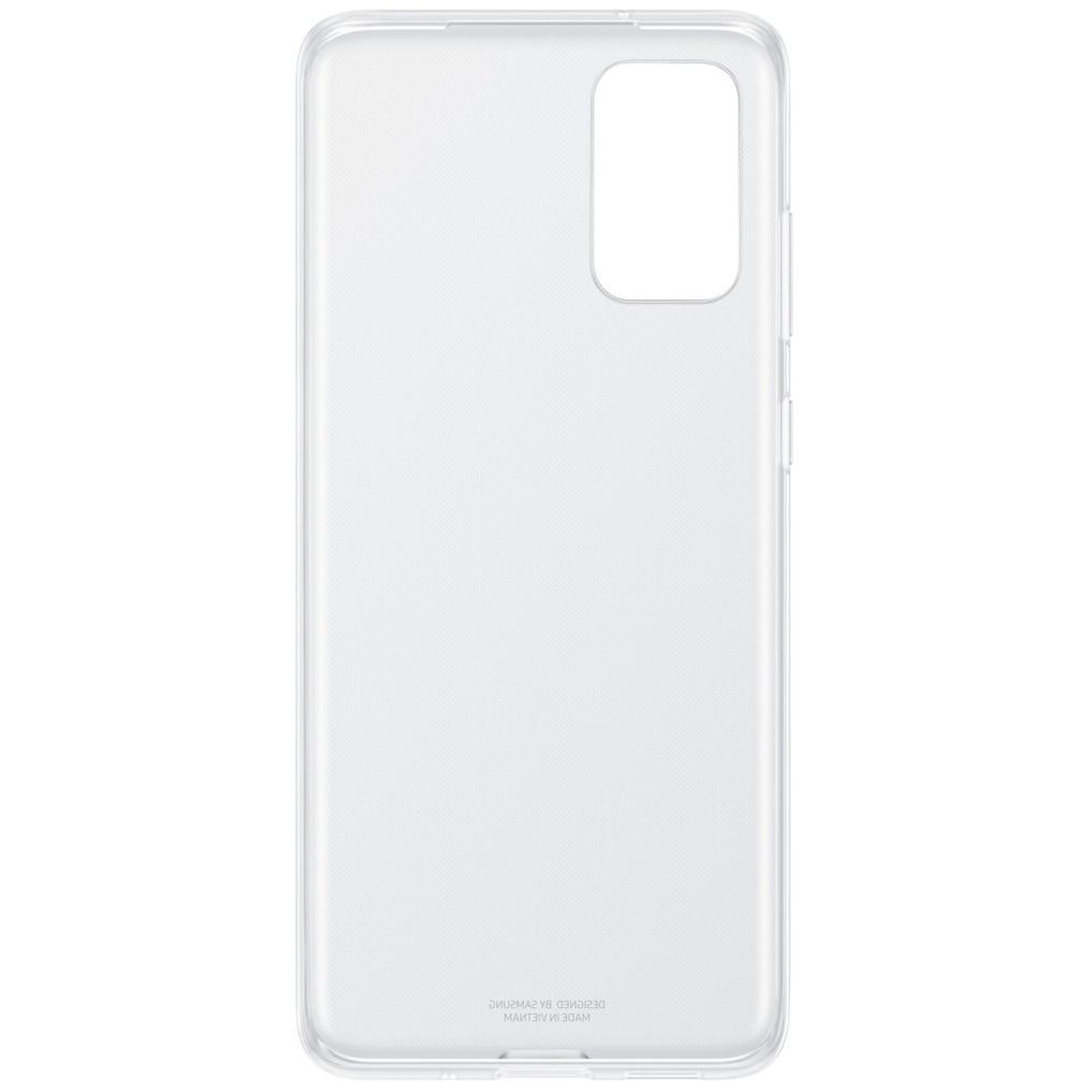 Fotografie Husa de protectie Samsung Clear Cover pentru Galaxy S20 Plus, Transparent