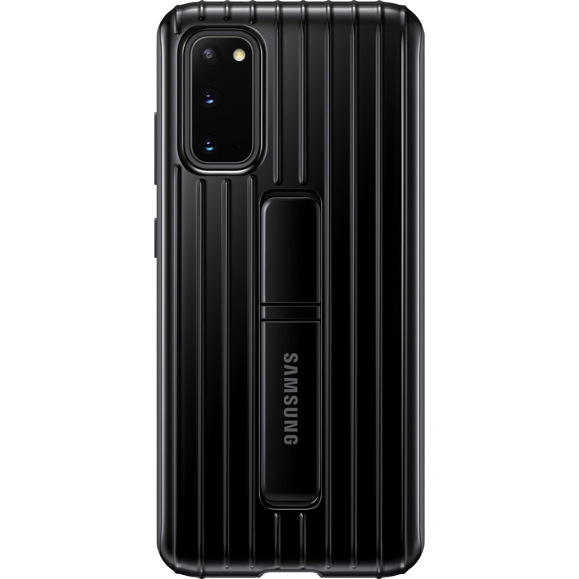 Fotografie Husa de protectie Samsung Protective Standing Cover pentru Galaxy S20, Black