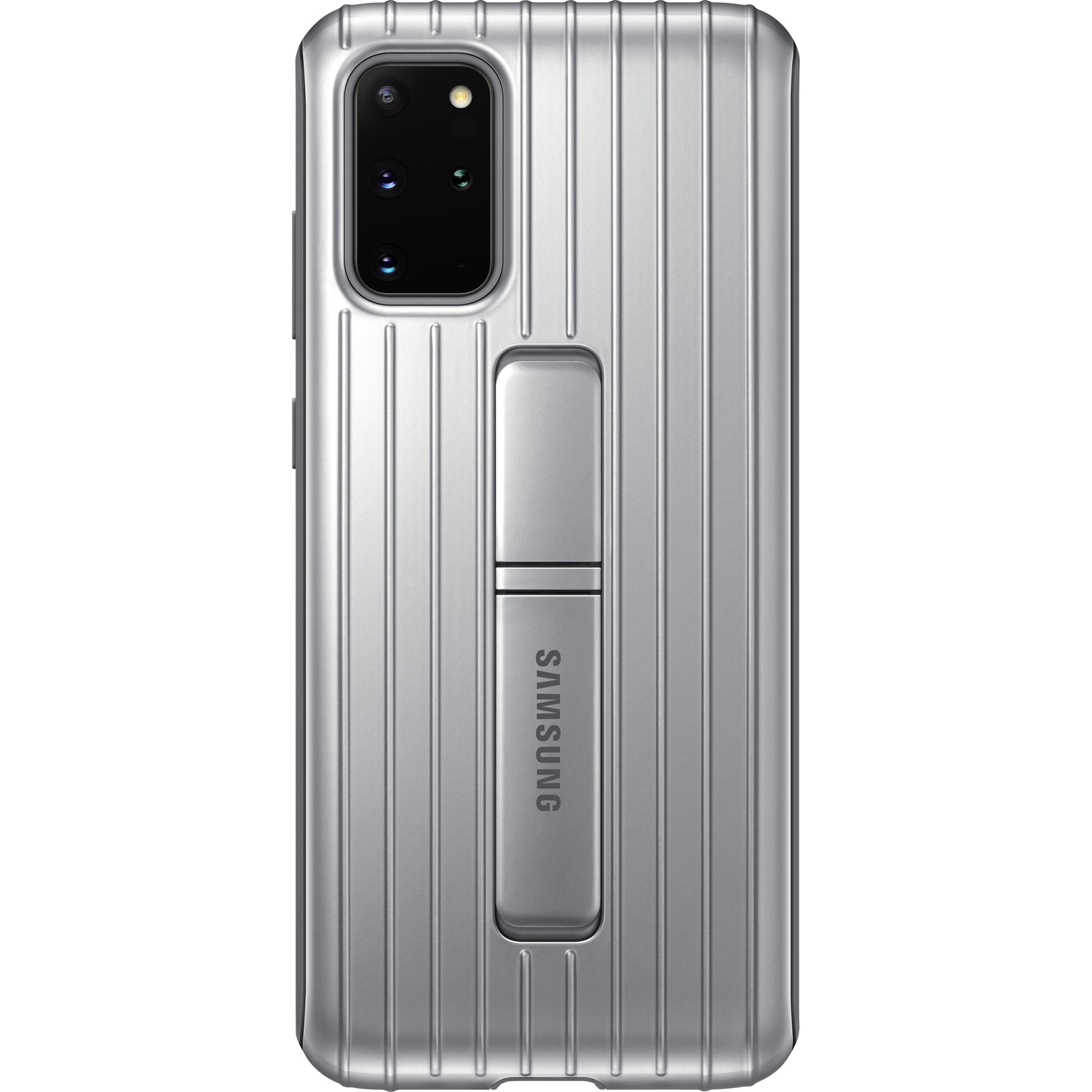 Fotografie Husa de protectie Samsung Protective Standing Cover pentru Galaxy S20 Plus, Silver