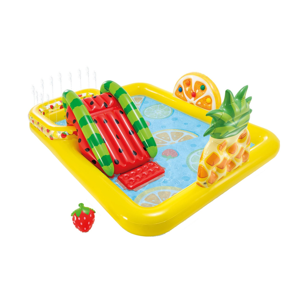 Fotografie Piscina gonflabila Intex - Fun'n Fruity, 244 x 191 x 91 cm