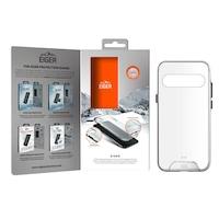 Eiger Glacier Case - удароустойчив хибриден кейс за Samsung Galaxy S10 Plus (прозрачен)