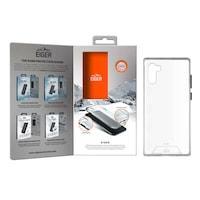 Eiger Glacier Case - удароустойчив хибриден кейс за Samsung Galaxy Note 10 Plus (прозрачен)