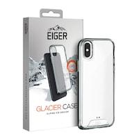 Eiger Glacier Case - удароустойчив хибриден кейс за iPhone XS Max (прозрачен)