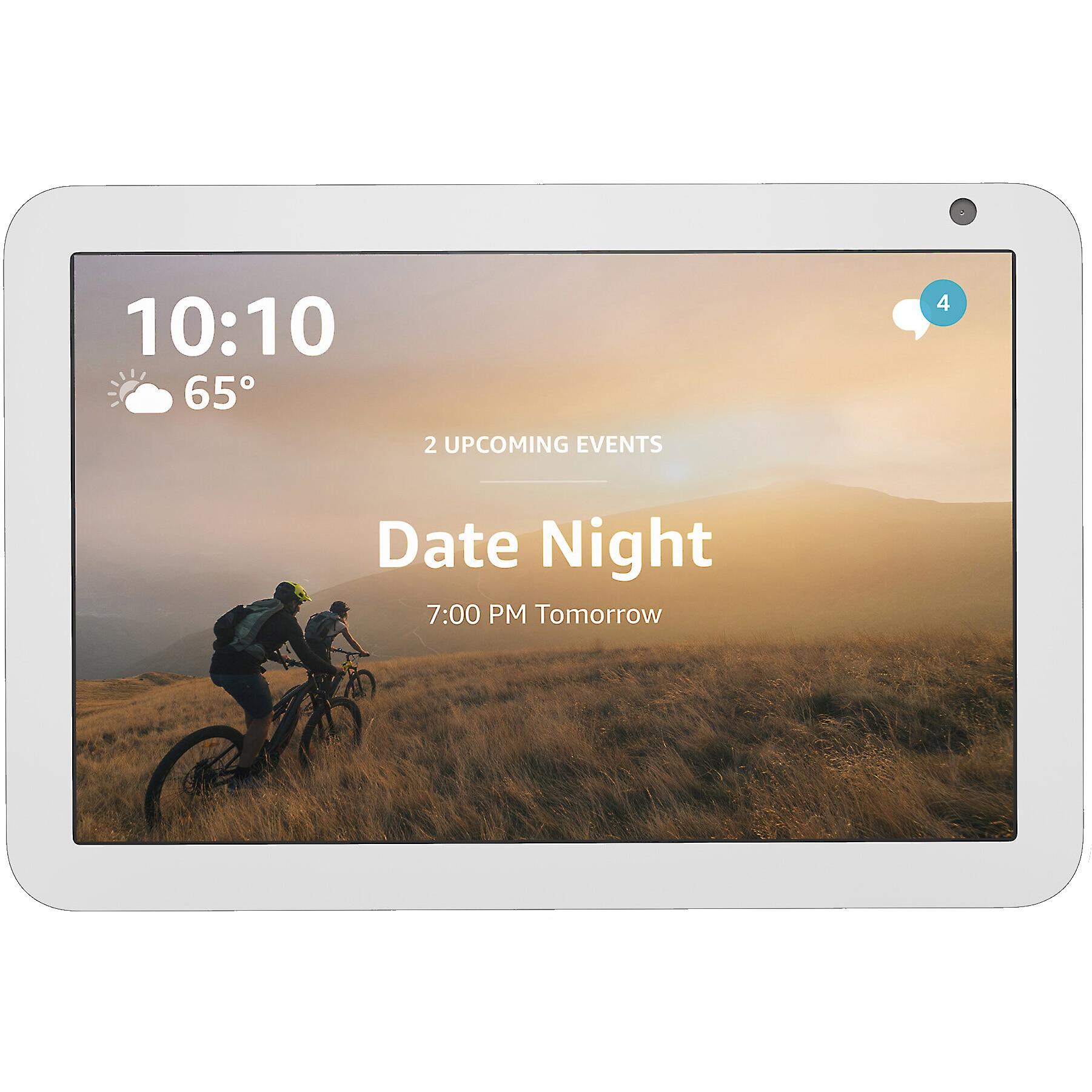 "Fotografie Boxa inteligenta Amazon Echo Show 8, HD touchscreen 8.0"", Camera 1MP, 10W, Wi-Fi, Microfon, Alb"