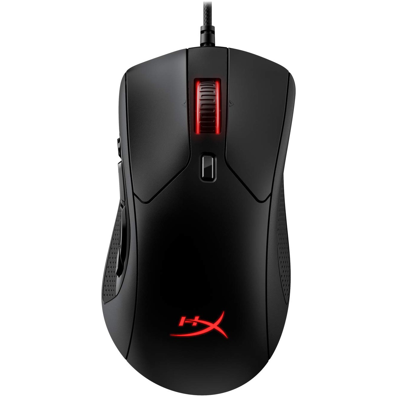 Fotografie Mouse gaming HyperX Pulsefire Raid, 11 butoane, ergonomic, Negru