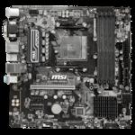 Дънна платка MSI B450M PRO-VDH MAX, socket AM4