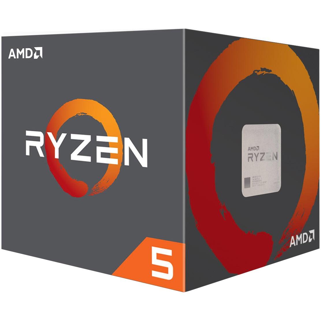 Fotografie Procesor AMD Ryzen™ 5 1600AF, 3.6GHz, 16MB, Wraith Stealth Cooler