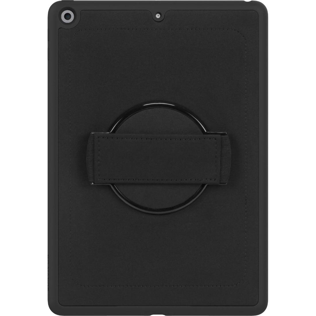 """Fotografie Husa de protectie Griffin Survivor AirStrap 360 pentru iPad 10.2"""", Negru"""