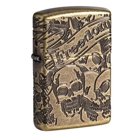 Zippo Freedom Skull 49035 öngyújtó
