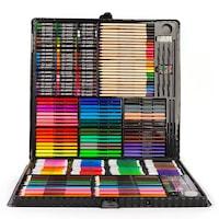 Детски комплект за рисуване, 258 части, чанта за съхранение, EDAYS