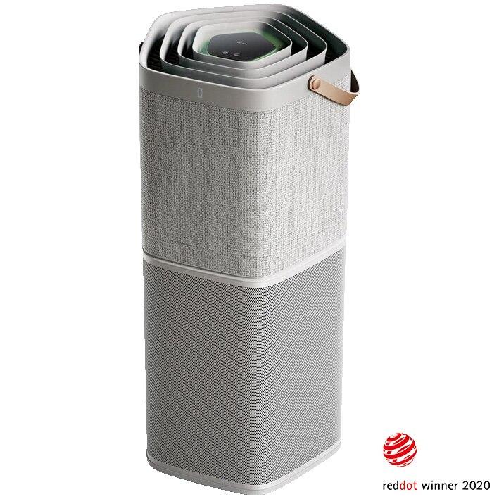 Fotografie Purificator de aer Electrolux PA91-604GY, Wi-Fi & app control, Ionizare, filtru Hepa, 2 moduri operare, 5 nivele filtrare, 5 senzori, 52m2, 17 dB(A), Gri