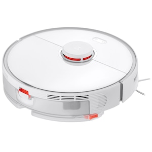 Робот прахосмукачка Roborock Cleaner S5 MAX, WiFi, Прахосмукачка и моп, Smart top-up, Навигация LiDar, Виртуална стена, Зона no mop, Бял