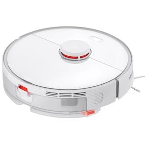 Robot de aspirare Roborock Cleaner S5 MAX, WiFi, Aspirator si mop, Smart top-up, Navigare LiDar, setare bariere virtuale, zone no mop, Alb