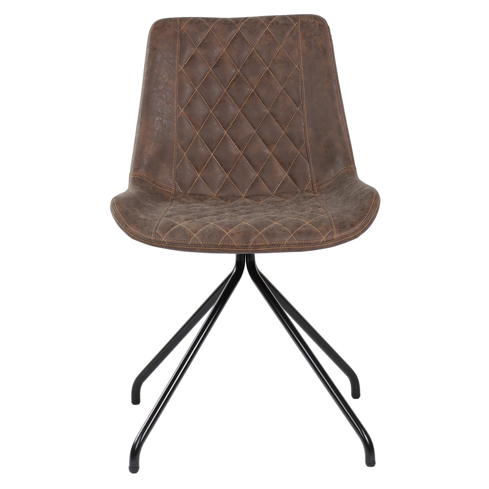 Kring Camus Étkező szék, PU, Antracit barna eMAG.hu