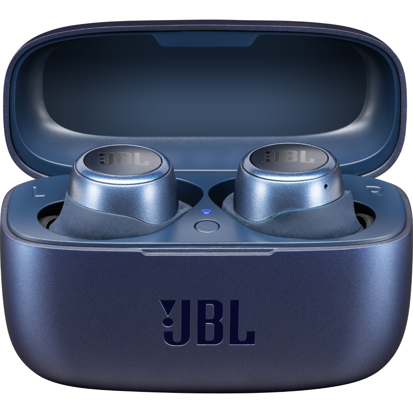 Fotografie Casti audio in-ear true wireless JBL LIVE 300TWS, JBL Signature Sound, Ambient Aware, TalkThru, 20H, Voice Assistant,Albastru