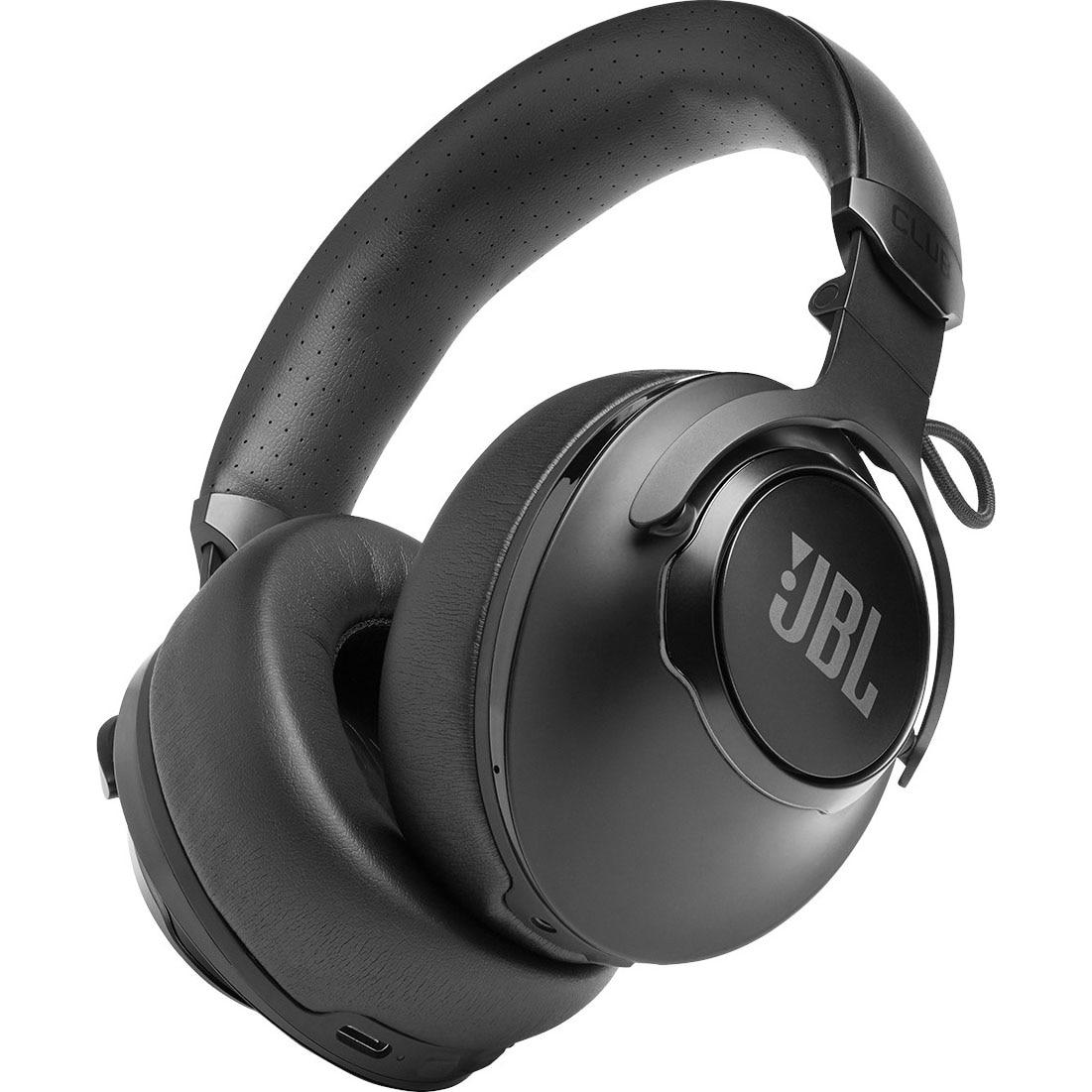 Fotografie Casti Audio Over the Ear JBL Club 950NC, Wireless, Bluetooth, Noise cancelling, Autonomie 55 ore, Negru
