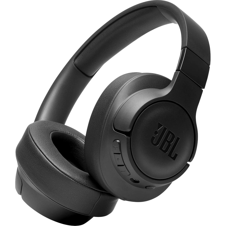 Fotografie Casti audio over-ear JBL Tune 700BT, Bluetooth, 24H, Conexiune multi-point, Negru