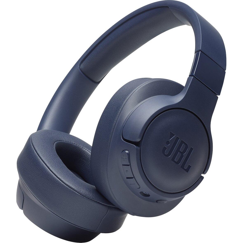 Fotografie Casti Audio Over the ear JBL Tune 700BT, Wireless, Bluetooth, Functie bass, Autonomie 24 ore, Albastru