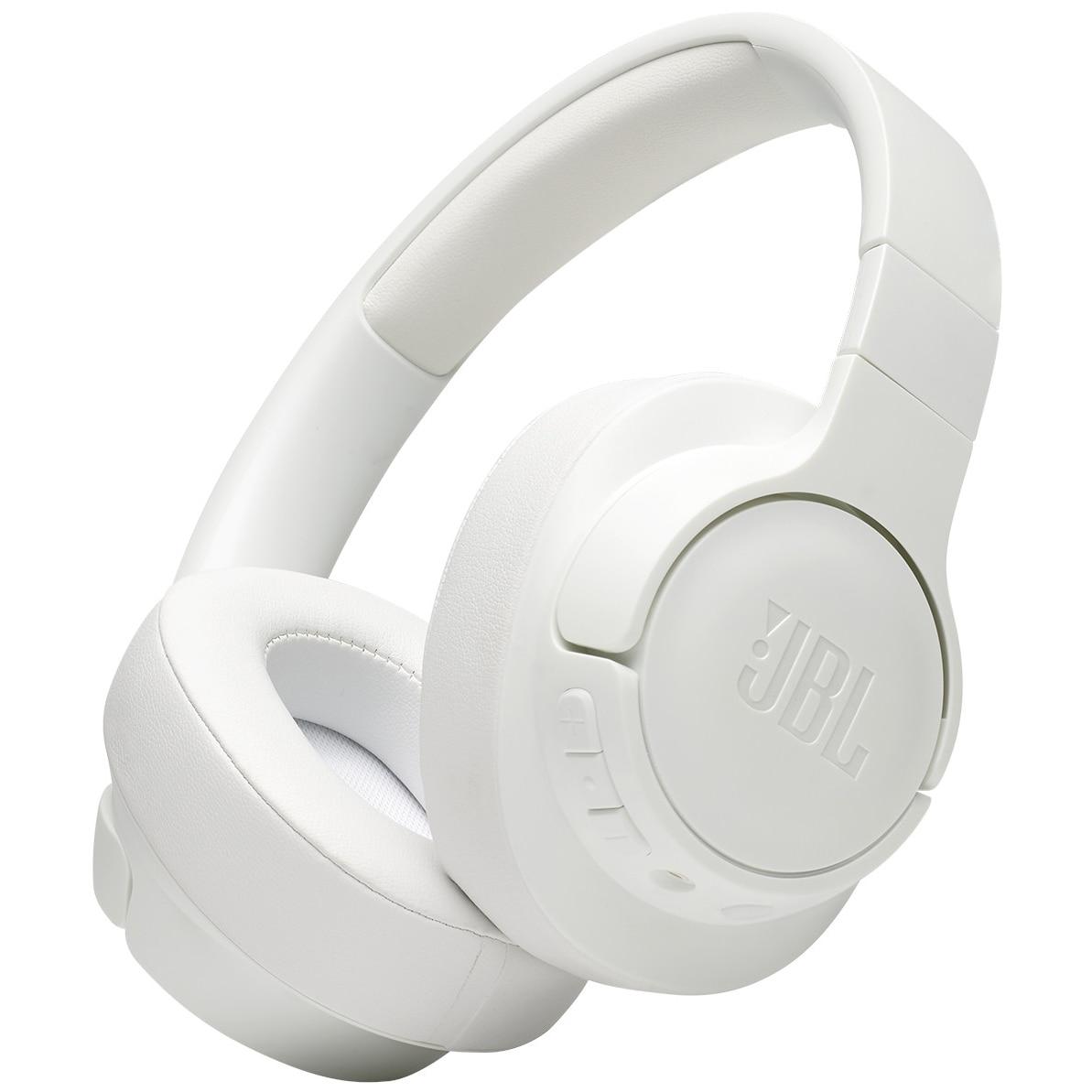 Fotografie Casti Audio Over the Ear JBL Tune 700BT, Wireless, Bluetooth, Autonomie 24 ore, Alb