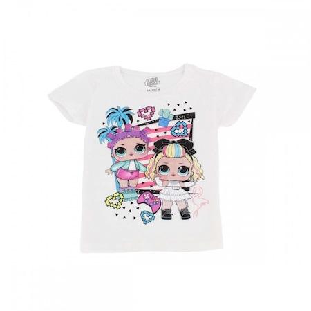 LOL Surprise mintás lányka rövid ujjú póló