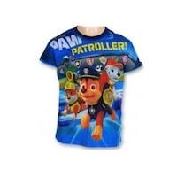 Gyerek póló, felső Paw Patrol, Mancs Őrjárat kék passzé