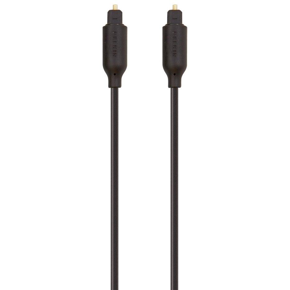 Fotografie Cablu optic Belkin, aurit, 1m, Negru