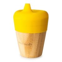 Bambuszüveg gyerekeknek, Eco Rascals, sárga