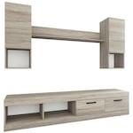 Irim Pascale nappali bútor, 200x38.5x171 cm, Stridie tölgy