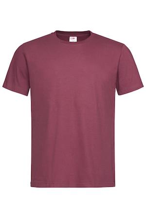 Тениска Stedman Classic Men Burgundy Red XL