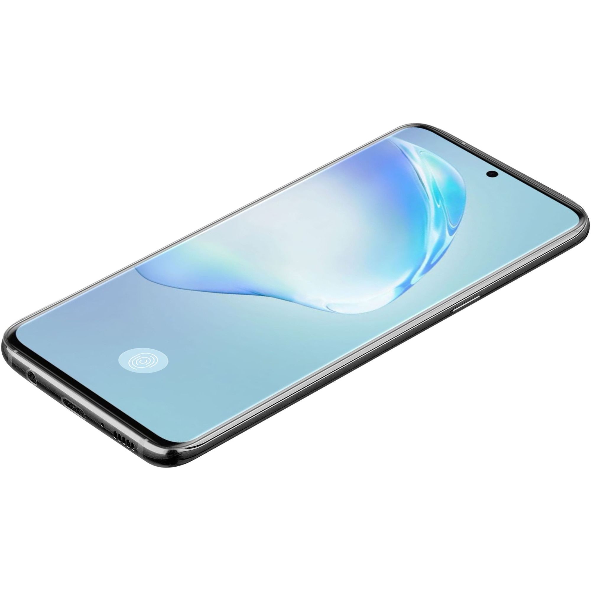 Fotografie Folie de protectie 3D Cellularline Antishock pentru Samsung Galaxy S20 Plus, sticla, Negru