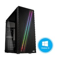 Gaming PC Pro377, Asztali számítógép, Intel® Core™ I7 3,4 GHz, Memória kapacitás 16GB, Tárolási kapacitás 2TB HDD, videokártya GeForce GT710, Supercase, Windows 10 Home 64bit