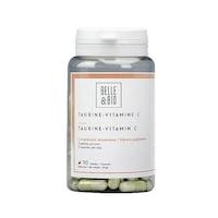 Taurin C-Vitaminnal, 90 Kapszula, 500 Mg
