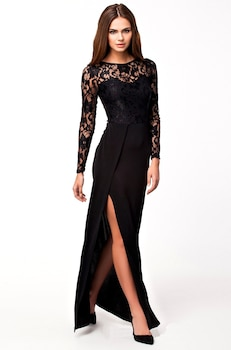 Magnólia Női alkalmi ruha, fekete