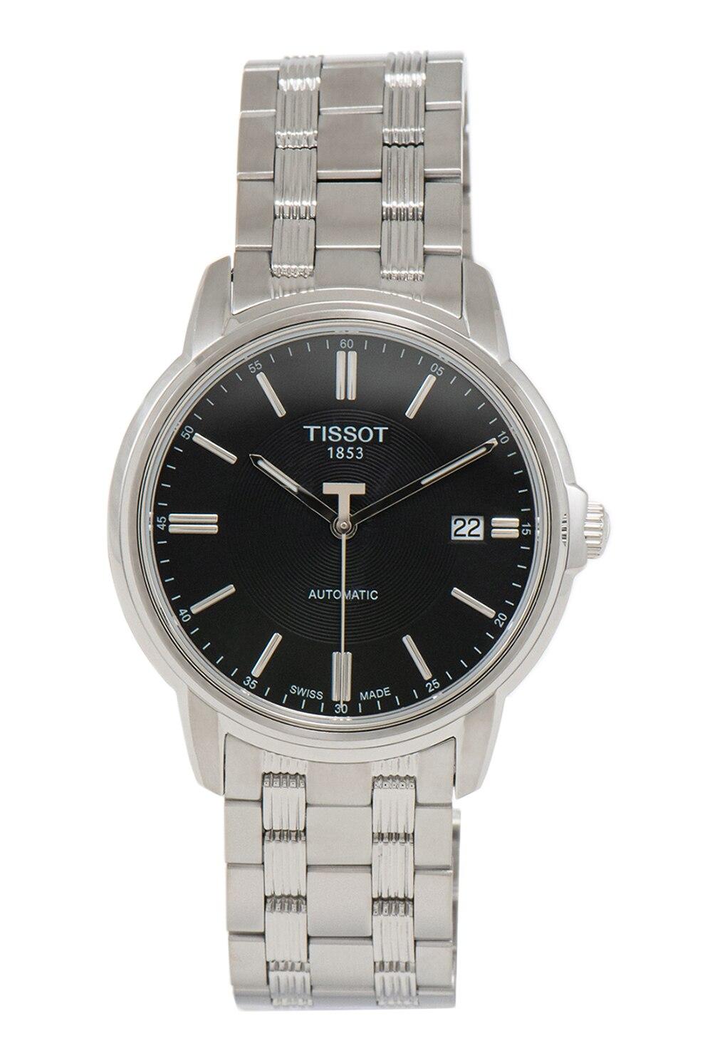 Fotografie Tissot, Ceas automatic cu bratara din otel inoxidabil, Argintiu