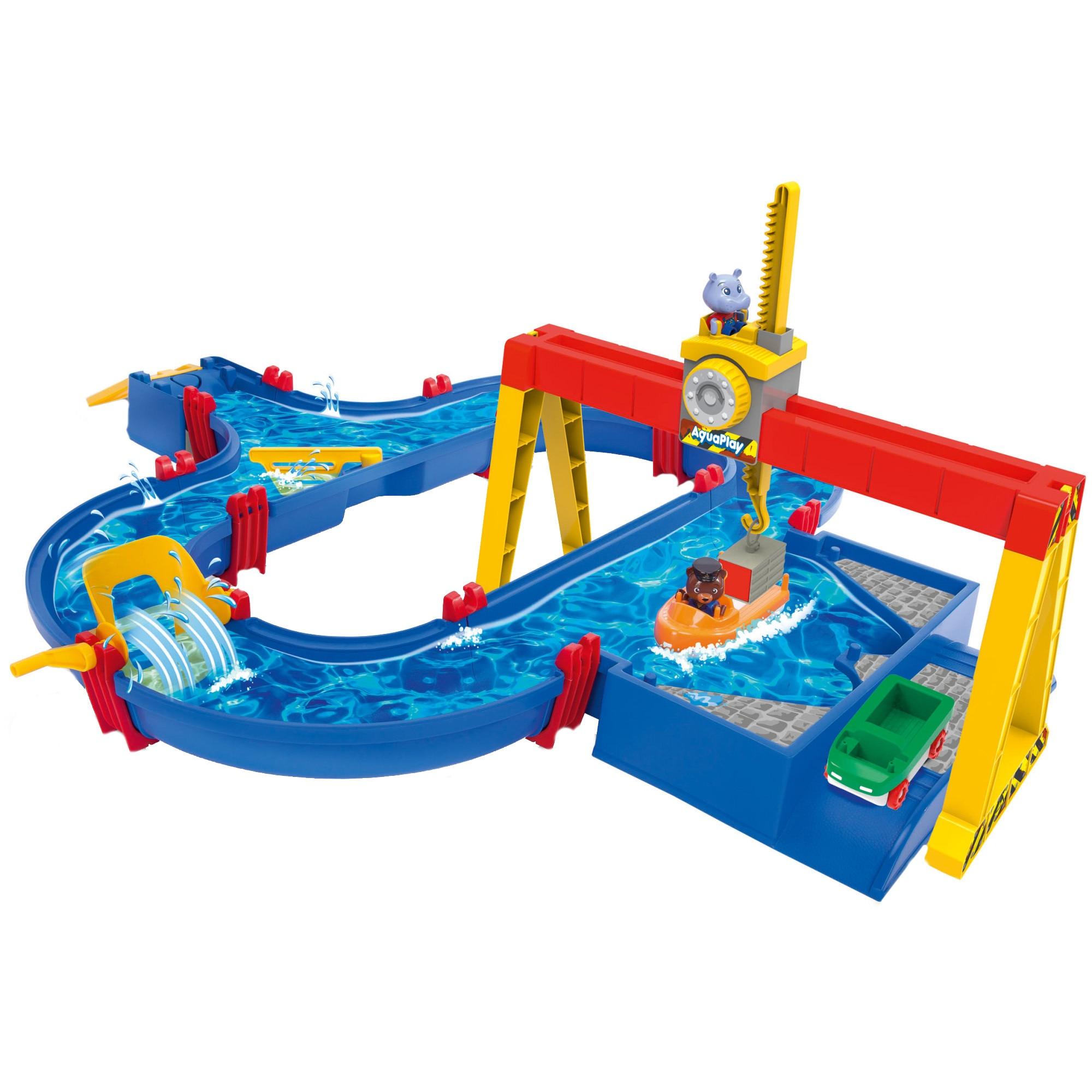 Fotografie Set de joaca AquaPlay, Pista cu apa - Container Port