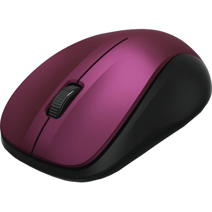 Fotografie Mouse wireless Hama MW-300, Bordeaux/Roz