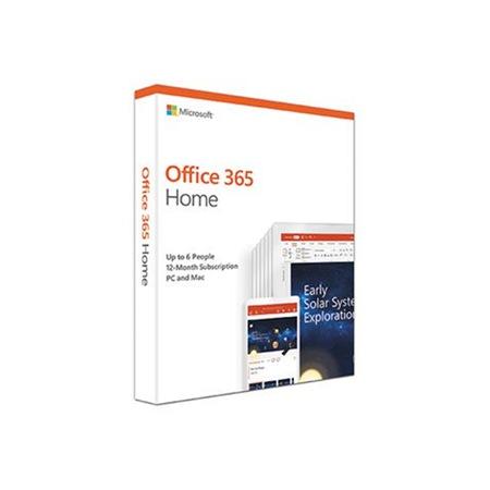 Microsoft Office 365 Home szoftver, 1 év, 6 felhasználó (6GQ-00912)