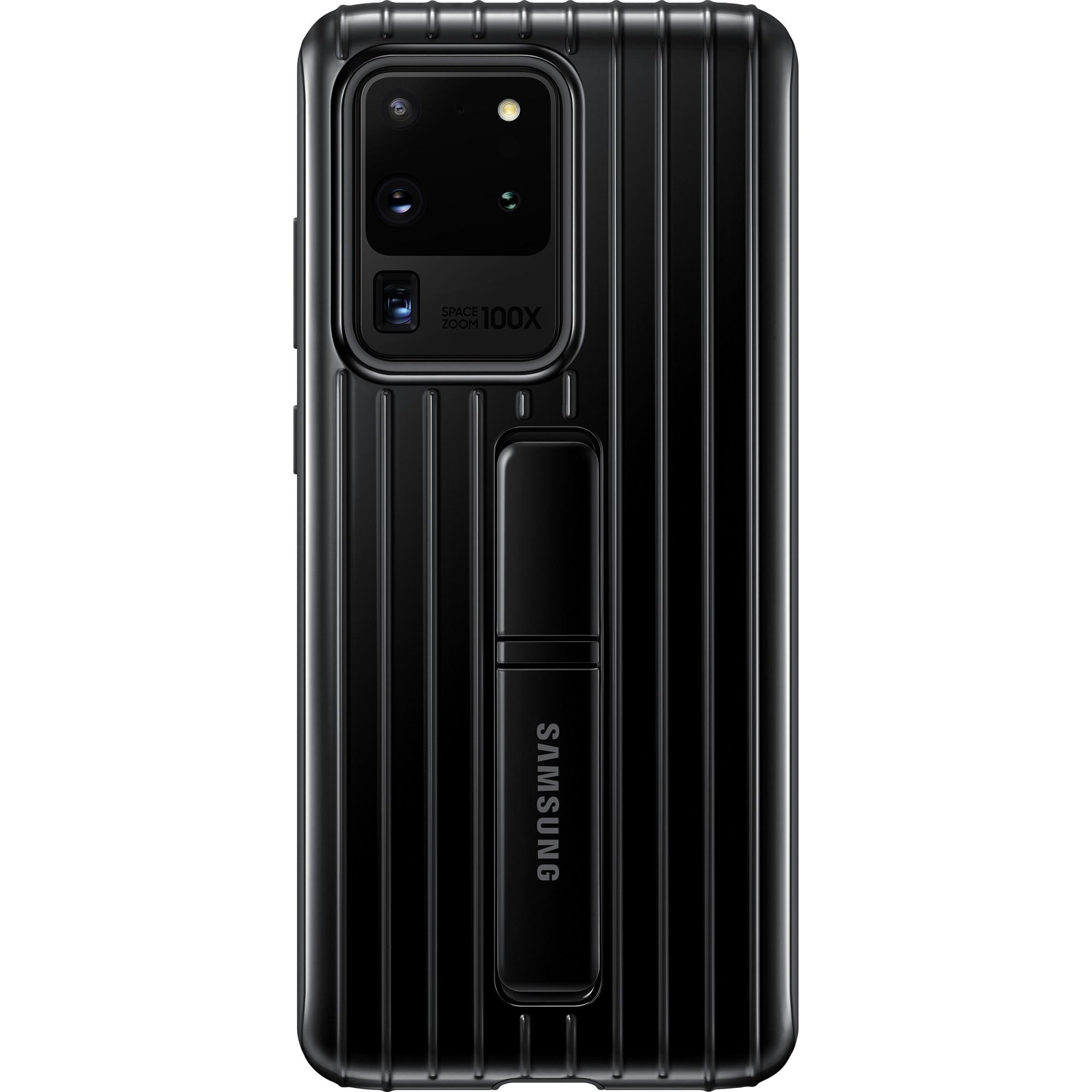 Fotografie Husa de protectie Samsung Standing Cover pentru Galaxy S20 Ultra, Black