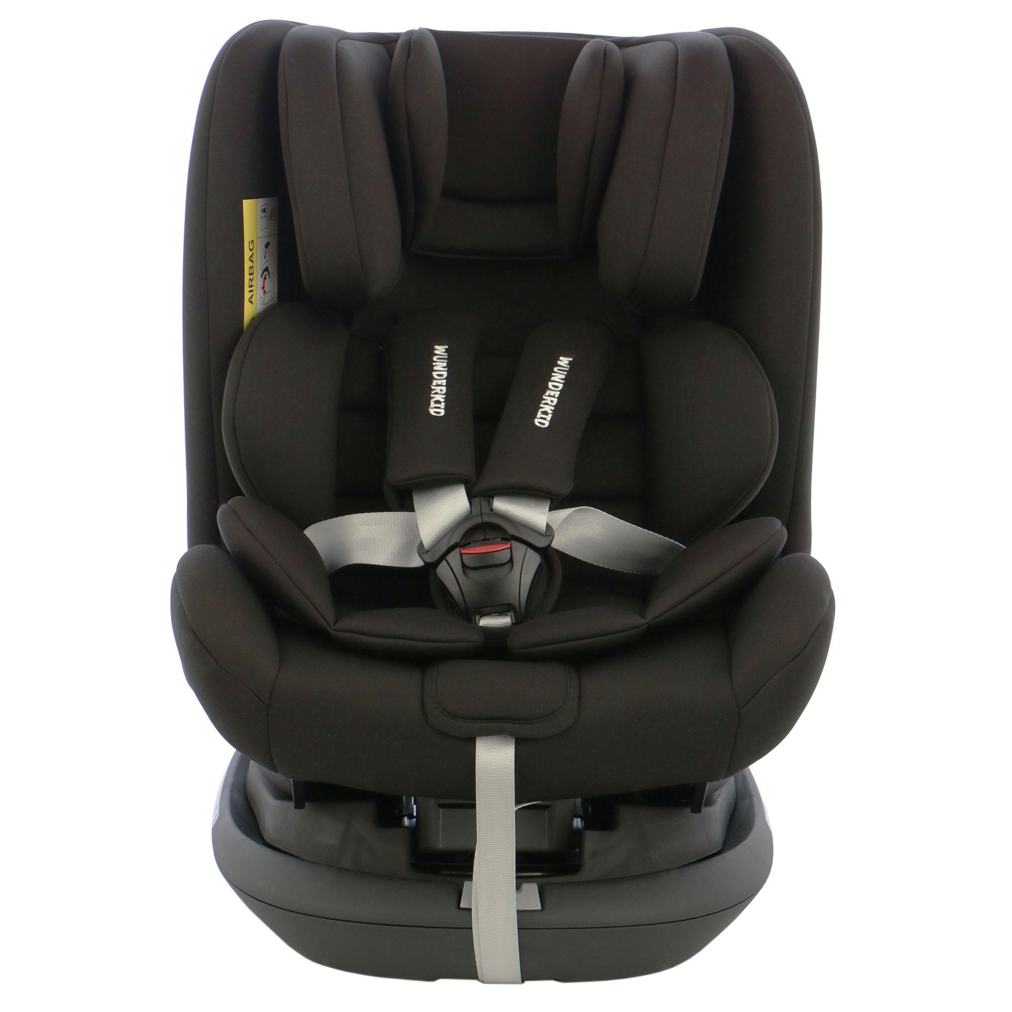 Fotografie Scaun auto ISOFIX, rotativ 360, Wunderkid Miami, 0-36 kg, Negru